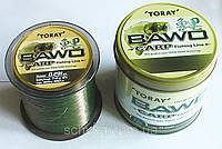 Леска TORAY BAWO CARP 1000 m 0.291мм.