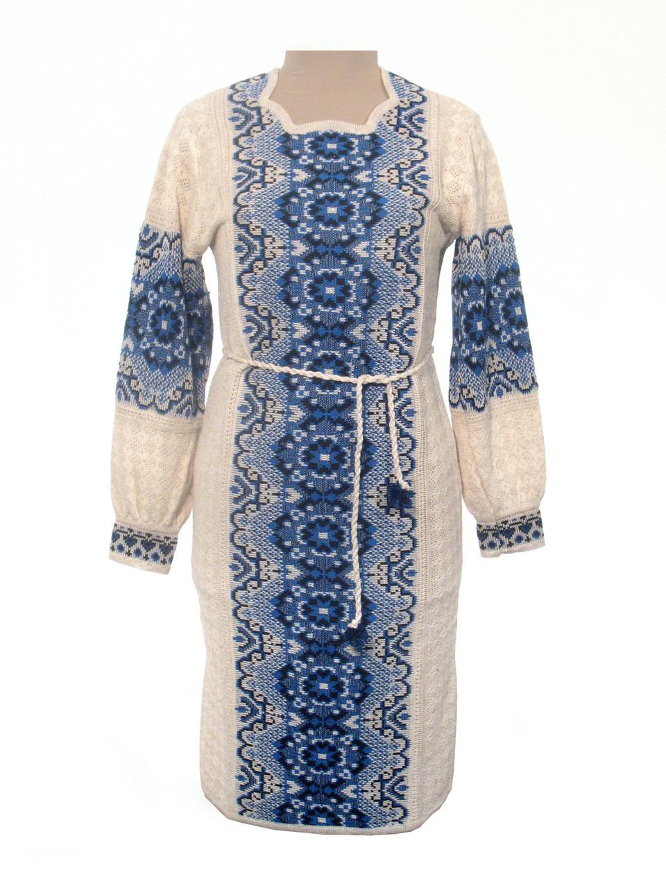Вязаное платье 0530