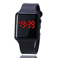 Apple Watch (Реплика), часы светодиодные LED цифровые. Черные.