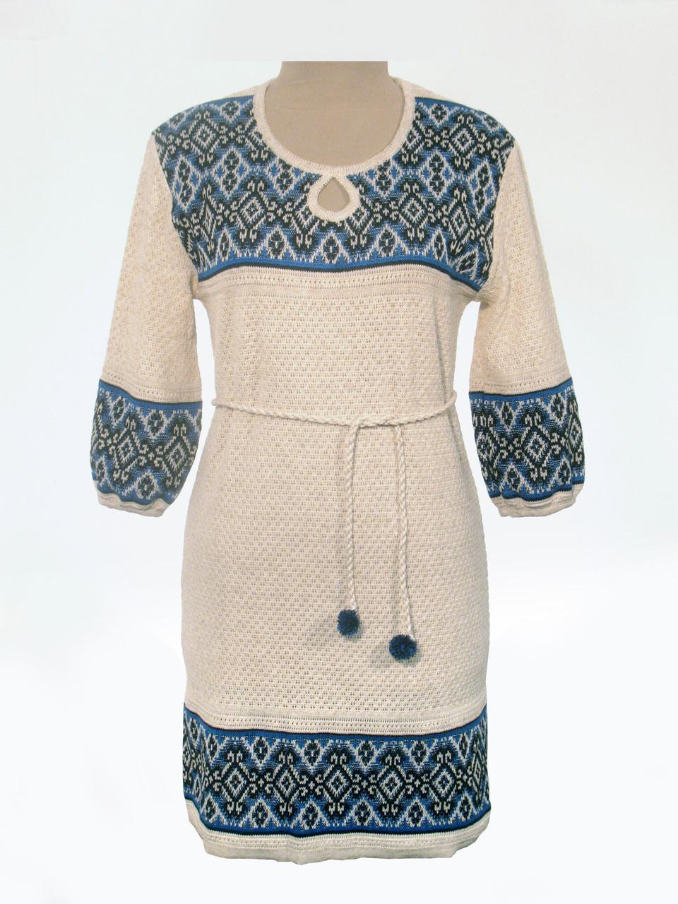 Вязаное платье 0531