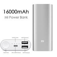 Повер банк Xiaomi Mi 16000 MAH 2 выхода!