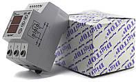 Реле напряжения с контролем тока VA-protector 40 A DigiTOP