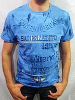 Мужская футболка SOKRAMENTE Супер посадка