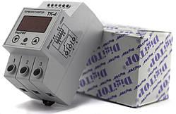 Терморегулятор ТК-4 одноканальный на динрейку с датчиком DigiTOP