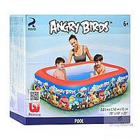 """Надувной бассейн """"Bestway"""" Angry Birds 96109, 201 x 150 см"""
