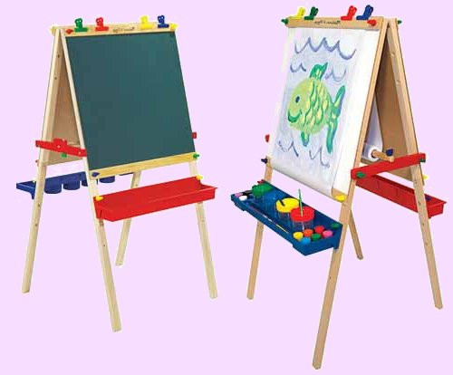 Детские мольберты и досточки для рисования