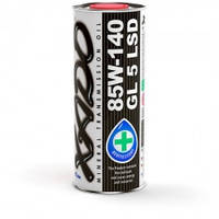Минеральное масло для механических трансмиссий 85W-140 GL 5 LSD XADO Atomic Oil