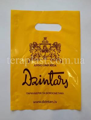Пакет банан с вырубной ручкой 200х300, 50 мкм, фото 2