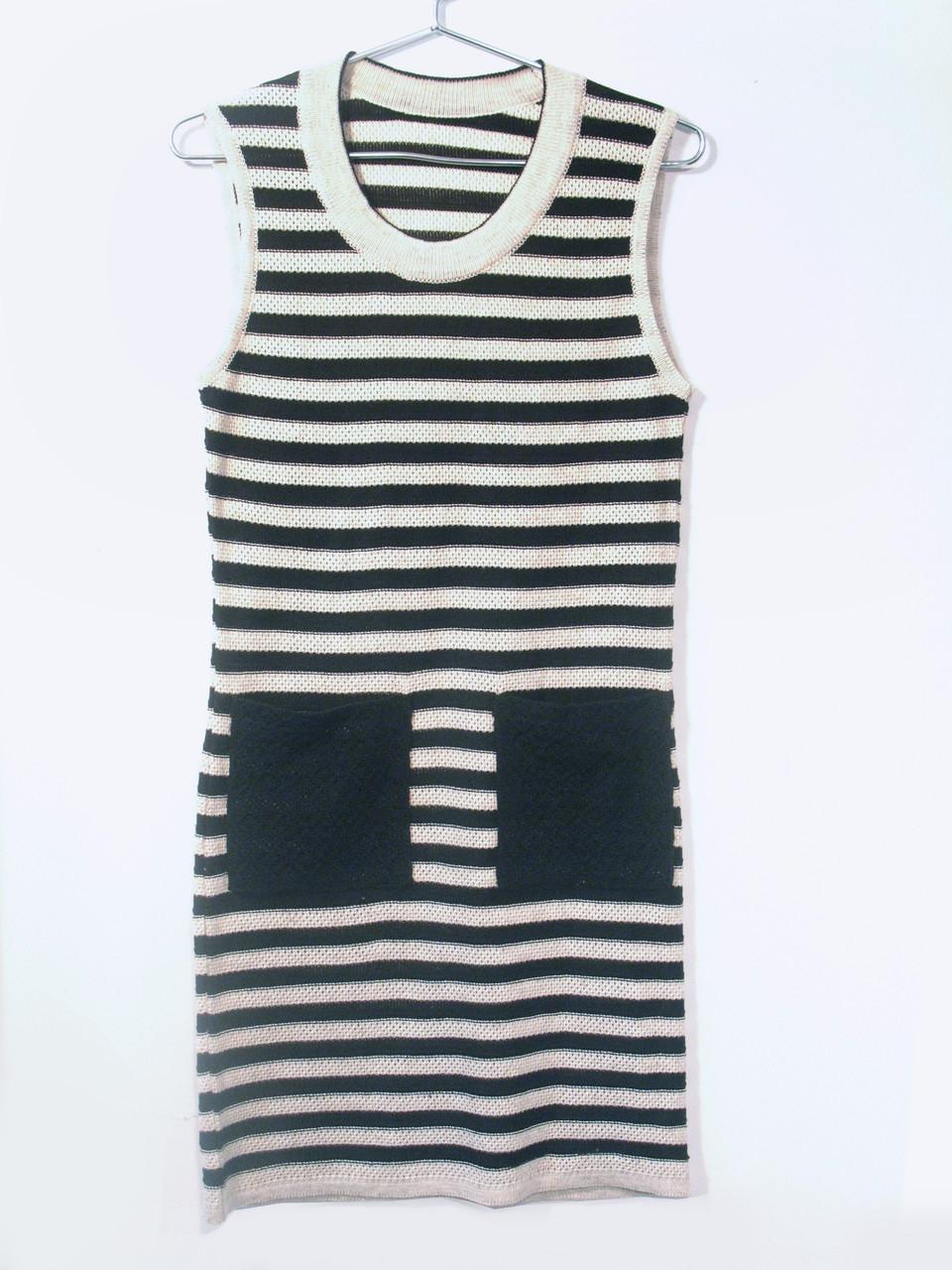 Вязаное платье на лето 0534