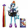 My Little Pony Equestria Girls Rockin Hair Styles Rainbow Dash ( Кукла Эквестрия Радуга Стильная прическа )
