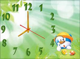 """Часы настенные """"в242"""", 30х40 для кухни, гостиной, детской, спальни. Подарок"""