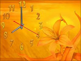 """Часы настенные """"в369"""", 30х40 для кухни, гостиной, детской, спальни. Подарок"""