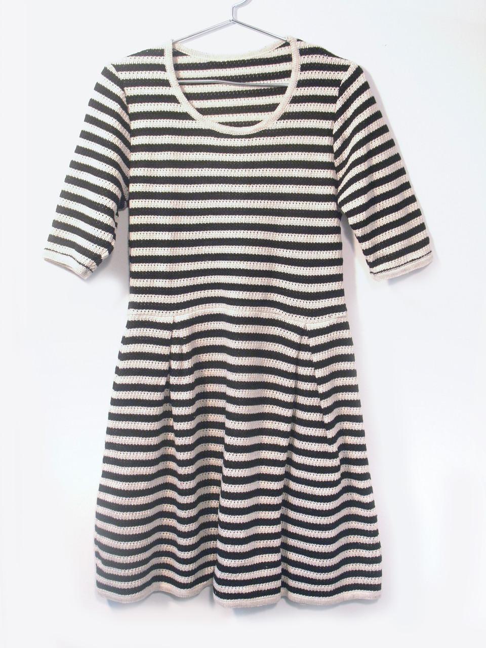 Вязаное платье на лето 0536