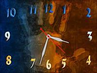 """Часы настенные """"в306"""", 30х40 для кухни, гостиной, детской, спальни. Подарок"""
