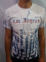 Мужская футболка LOS ANGELES  Супер посадка