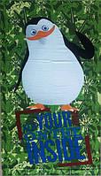 Пляжное детское полотенце Пингвин, 150*75