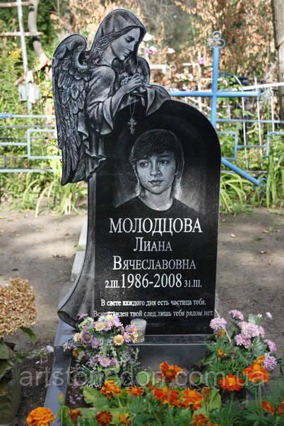 Памятник с ангелом недорогой