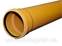 Труба ПВХ SN8 110х3,2х3000 Wavin