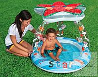 Надувной детский бассейн Звездочка Intex 57428, фото 1