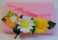 """Молд силиконовый """"Цветочный веночек"""" 8,5 см 2,см"""