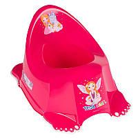 Горшок антискользящий Tega Baby  Little Princes  LP-001  розовый
