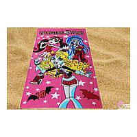 Пляжное детское полотенце Монстры Хай , 150*75