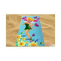 Пляжное детское полотенце Фея Динь-Динь, 150*75