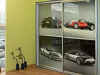 Фасады купе -  фотопечать на шкафах для детей