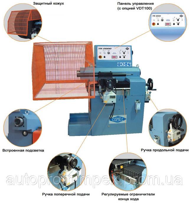 технические особенности станка TR 2000