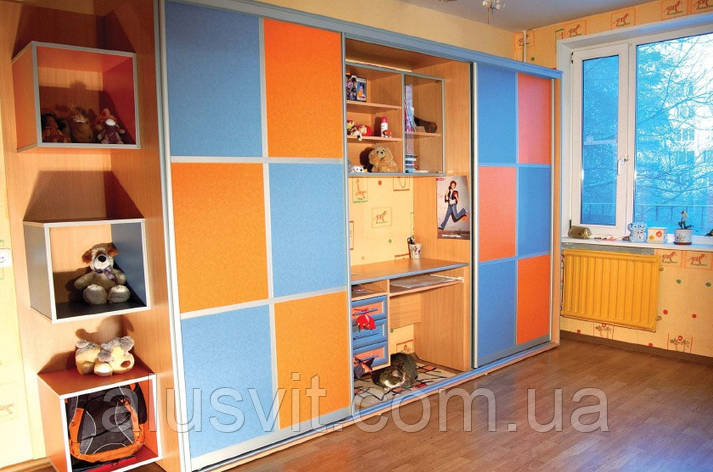 Фасады купе для детских комнат, фото 2