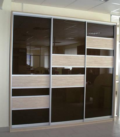 Фасады для шкафов купе комбинированные, фото 2