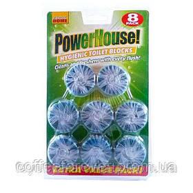 Туалетный блок для унитаза Powerhouse-- 8 шт