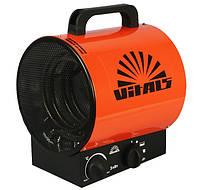 Промышленный тепловентилятор (тепло-пушка) TM VITALS EH-31 3000W (1кВт=10кв.м.) 220V