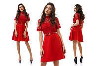 Платье шитьё на подкладке разные цвета размеры S M L