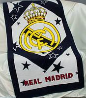 Махрово-велюрове пляжний рушник Реал Мадрид, 75*150, Туреччина