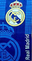 Махрово-велюрове пляжний рушник Реал Мадрид-1, 75*150, Туреччина