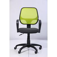Кресло Бит, АМФ-7 сиденье А-2, спинка Сетка лайм (АМФ-ТМ)