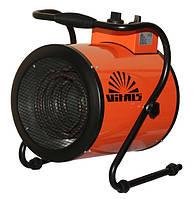 Промышленный тепловентилятор (тепло-пушка) TM VITALS EH-30 3000W (1кВт=10кв.м.) 220V
