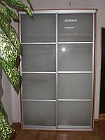 Фасады шкафы купе наполнение стекло матовое