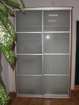 Двери купе стекло сатин , фото 2