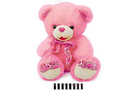 Мягкая игрушка Мишка с бантом S38-3414X\55 SK сидячий 55 см, розовый