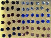Сережки гвоздики, набор (30 пар)
