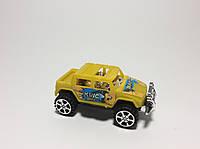 Машинка детская желтая