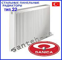 Стальные панельные радиаторы Sanica тип 22 500х2000