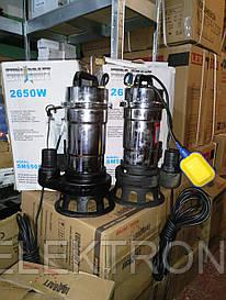 Дренажно-фекальный насос Euro Craft SM 550