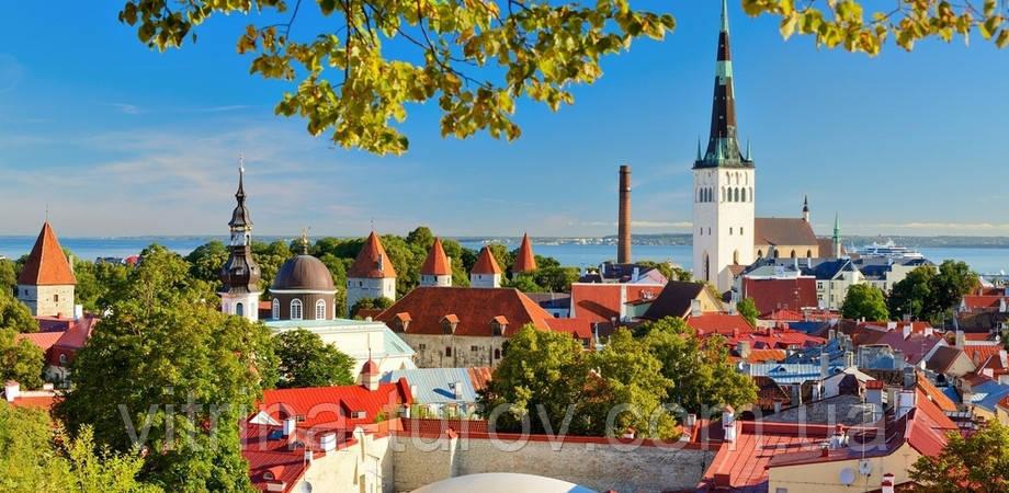 """Экскурсионный тур в Европу """"Рига, Таллин + Стокгольм"""""""