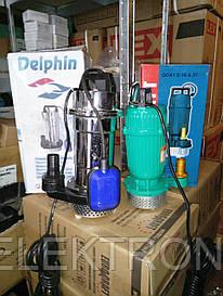 Дренажно-фекальный насос Delphin