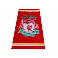 Махрово-велюровое пляжное полотенце Ливерпуль-1, 75*150, Турция