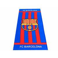 Махрово-велюровое пляжное полотенце Барселона-3, 75*150, Турция