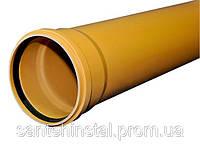Труба ПВХ SN8 110х3,2х2000 Wavin